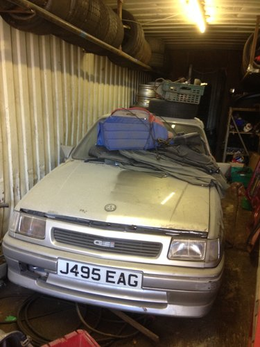 1991 VAUXHALL NOVA GSI  SOLD (picture 1 of 3)