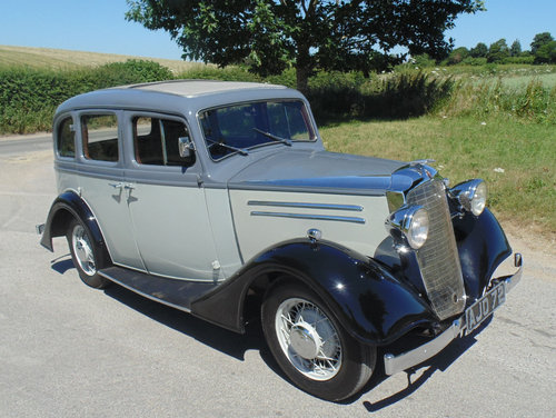 1935 Vauxhall Light Six 14/6 DX De Luxe SOLD (picture 2 of 6)