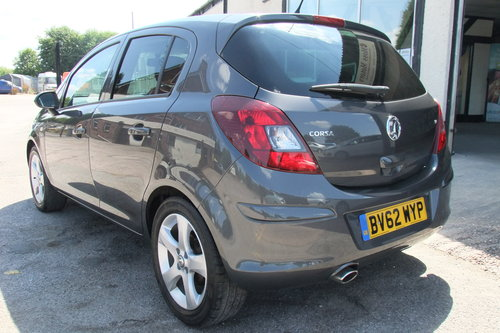 2012 VAUXHALL CORSA 1.2 SXI AC 5DR SOLD (picture 3 of 6)