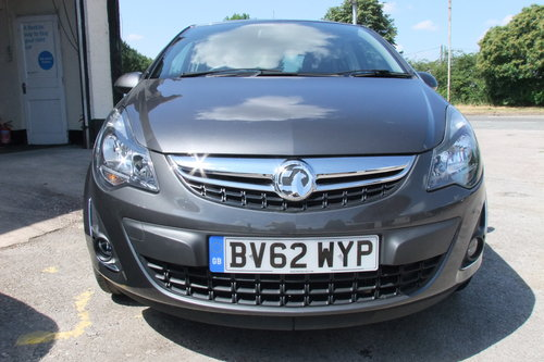 2012 VAUXHALL CORSA 1.2 SXI AC 5DR SOLD (picture 4 of 6)