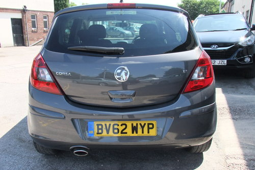 2012 VAUXHALL CORSA 1.2 SXI AC 5DR SOLD (picture 5 of 6)