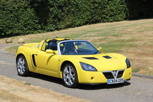 2004 VAUXHALL VX220 TURBO - 24,400 MILES - EXCEPTIONAL SOLD (picture 2 of 6)