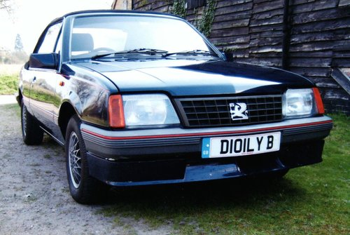1986 Vauxhall Cavalier  For Sale (picture 1 of 6)