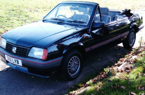 1986 Vauxhall Cavalier  For Sale (picture 2 of 6)