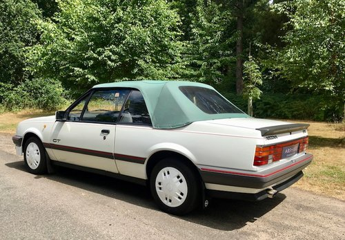 1986 Vauxhall Cavalier Convertible 1 owner, Turbo (Opel Ascona) - SOLD (picture 2 of 6)