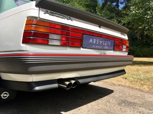 1986 Vauxhall Cavalier Convertible 1 owner, Turbo (Opel Ascona) - SOLD (picture 6 of 6)