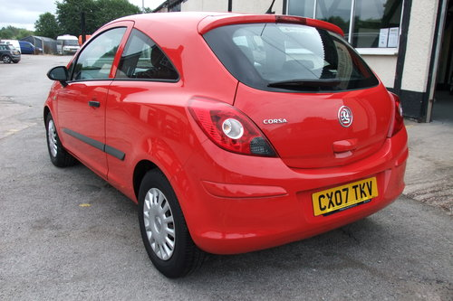 2007 VAUXHALL CORSA 1.0 EXPRESSION 3DR SOLD (picture 3 of 6)