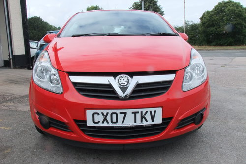 2007 VAUXHALL CORSA 1.0 EXPRESSION 3DR SOLD (picture 4 of 6)