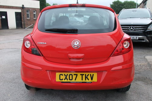 2007 VAUXHALL CORSA 1.0 EXPRESSION 3DR SOLD (picture 5 of 6)