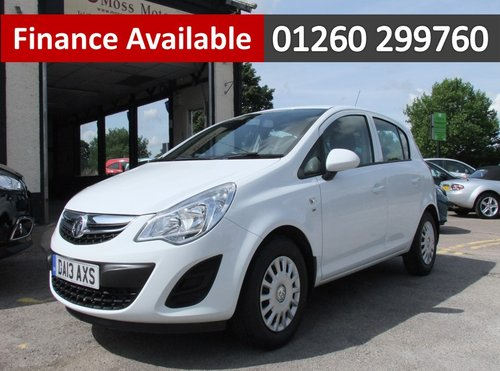 2013 VAUXHALL CORSA 1.0 S ECOFLEX 5DR SOLD (picture 1 of 6)