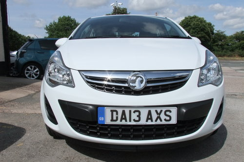 2013 VAUXHALL CORSA 1.0 S ECOFLEX 5DR SOLD (picture 4 of 6)