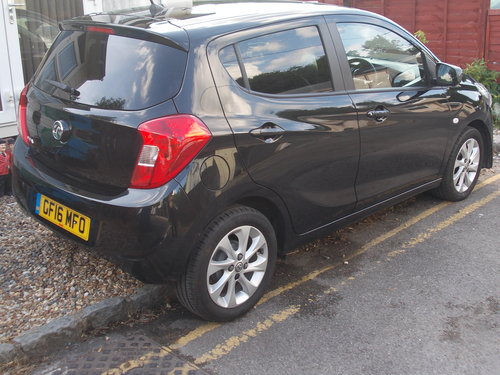 VAUXHALL VIVA 2016 ONLY 9500 MILES For Sale (picture 3 of 6)