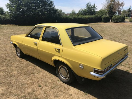 1976 Vauxhall Viva 4 dr saloon 'sleeper' 16v Redtop/5 speed For Sale (picture 3 of 6)