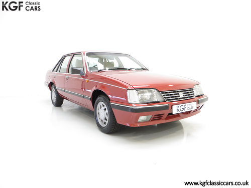 1986 An Executive Vauxhall Senator 2.5i (A2) with 44,297 miles SOLD (picture 1 of 6)