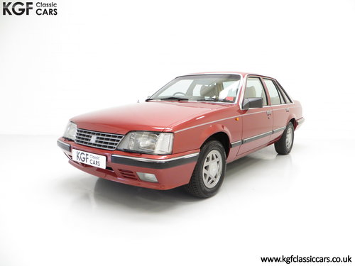 1986 An Executive Vauxhall Senator 2.5i (A2) with 44,297 miles SOLD (picture 2 of 6)