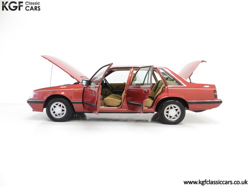 1986 An Executive Vauxhall Senator 2.5i (A2) with 44,297 miles SOLD (picture 3 of 6)