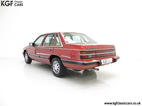 1986 An Executive Vauxhall Senator 2.5i (A2) with 44,297 miles SOLD (picture 4 of 6)