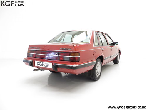 1986 An Executive Vauxhall Senator 2.5i (A2) with 44,297 miles SOLD (picture 5 of 6)