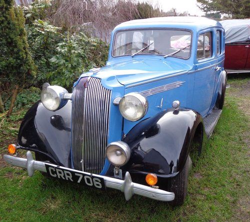 1936 Vauxhall 14 Dx Series 2 Saloon For Sale (picture 1 of 6)