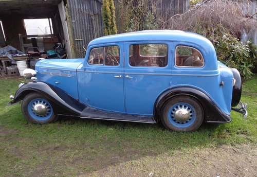 1936 Vauxhall 14 Dx Series 2 Saloon For Sale (picture 2 of 6)