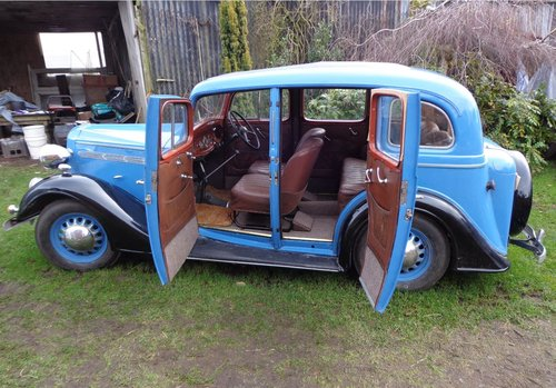 1936 Vauxhall 14 Dx Series 2 Saloon For Sale (picture 4 of 6)