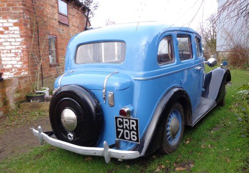 1936 Vauxhall 14 Dx Series 2 Saloon For Sale (picture 5 of 6)