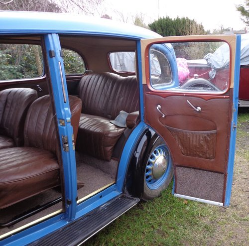 1936 Vauxhall 14 Dx Series 2 Saloon For Sale (picture 6 of 6)