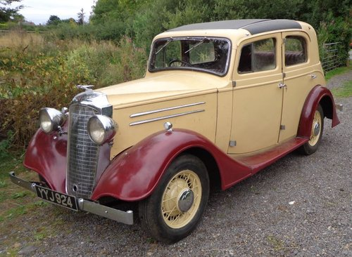 1936 Joseph  Holbrook Vauxh Suffolk Touring Saloon For Sale (picture 3 of 6)