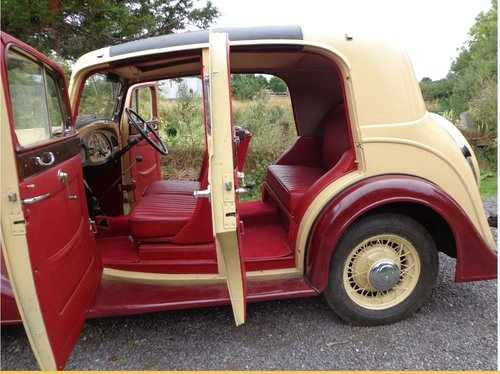 1936 Joseph  Holbrook Vauxh Suffolk Touring Saloon For Sale (picture 4 of 6)
