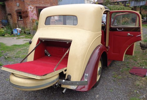 1936 Joseph  Holbrook Vauxh Suffolk Touring Saloon For Sale (picture 5 of 6)