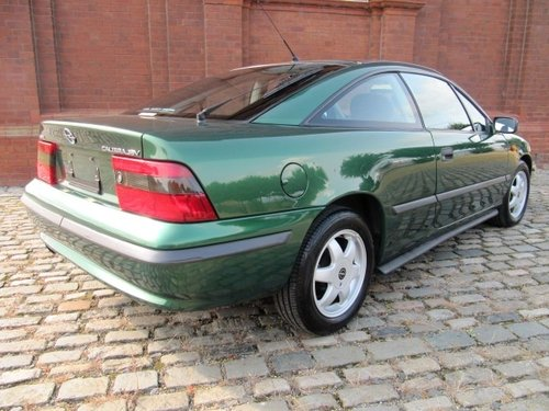 1996 VAUXHALL CALIBRA 2.0 16V AUTO COUPE * ONLY 32000 MILES *RARE For Sale (picture 2 of 6)
