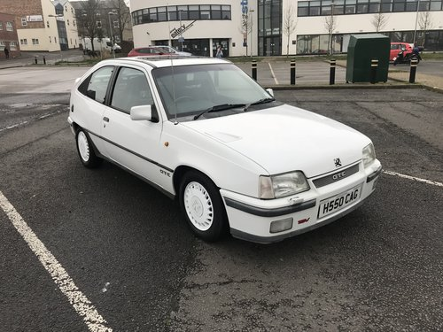 1990 Vauxhall Astra GTE 16V 79k 2 Previous Owners For Sale (picture 2 of 6)