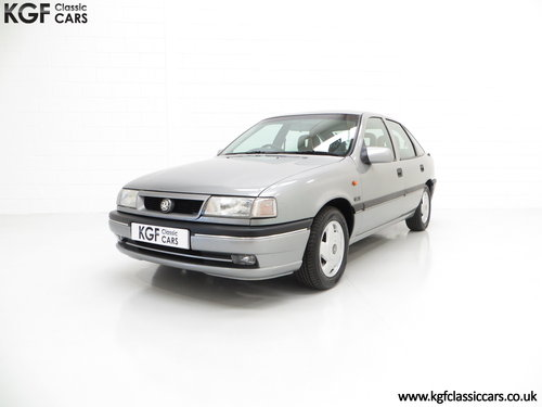 1995 Vauxhall Cavalier Mk3 2.0i GLS 16v, 33,909 Miles and 1 Owner SOLD (picture 2 of 6)
