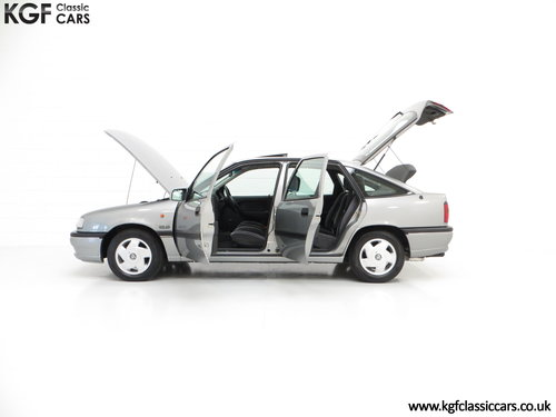 1995 Vauxhall Cavalier Mk3 2.0i GLS 16v, 33,909 Miles and 1 Owner SOLD (picture 3 of 6)