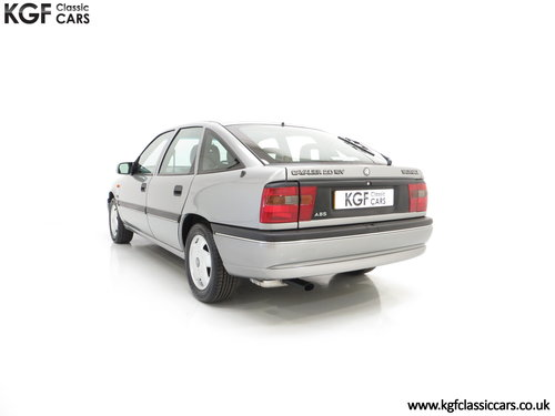 1995 Vauxhall Cavalier Mk3 2.0i GLS 16v, 33,909 Miles and 1 Owner SOLD (picture 4 of 6)