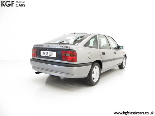 1995 Vauxhall Cavalier Mk3 2.0i GLS 16v, 33,909 Miles and 1 Owner SOLD (picture 5 of 6)