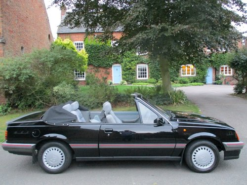 Vauxhall Cavalier 1.8 Cabriolet Mark 2 SOLD (picture 1 of 6)