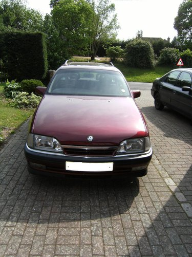 1993 Vauxhall Carlton Diamond C40SE 24v For Sale (picture 2 of 6)