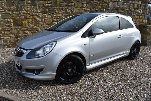 2009 Vauxhall Corsa SRI AC Turbo SOLD (picture 1 of 6)