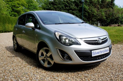 2012 Vauxhall Corsa SXI AC For Sale (picture 1 of 6)