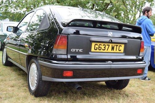 Vauxhall Astra GTE MK2 8V 1990 35,000K or swap why For ...