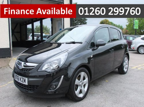 2012 VAUXHALL CORSA 1.4 SXI AC 5DR SOLD (picture 1 of 6)