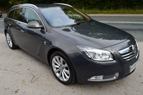 Vauxhall Insignia 2.0 CTDI ecoFLEX Elite Sport Tourer 2013 For Sale (picture 1 of 6)