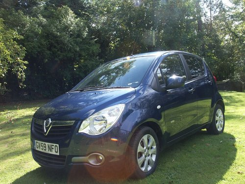 2009 VAUXHALL AGILA DESIGN  SOLD (picture 1 of 6)