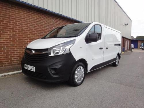 2015 VAUXHALL VIVARO 2900 1.6CDTI 115PS H1 Van For Sale (picture 1 of 6)