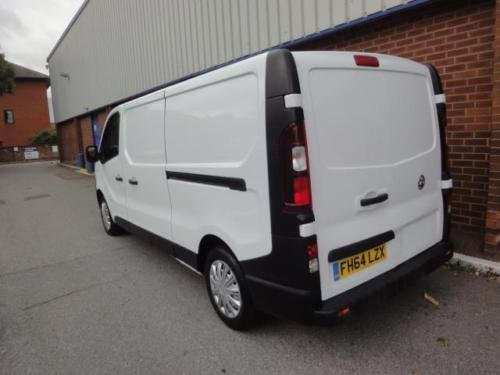 2015 VAUXHALL VIVARO 2900 1.6CDTI 115PS H1 Van For Sale (picture 3 of 6)