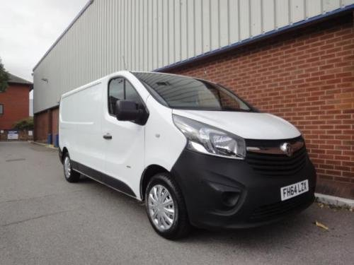 2015 VAUXHALL VIVARO 2900 1.6CDTI 115PS H1 Van For Sale (picture 4 of 6)