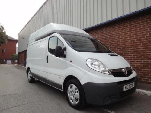 2012 VAUXHALL VIVARO 2.0 CDTI LWB High Roof Van 2.9t Euro 5 For Sale (picture 1 of 6)