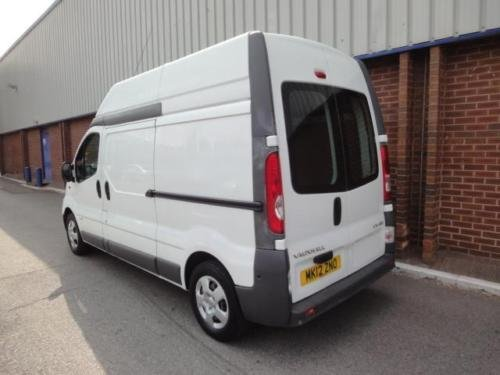 2012 VAUXHALL VIVARO 2.0 CDTI LWB High Roof Van 2.9t Euro 5 For Sale (picture 3 of 6)