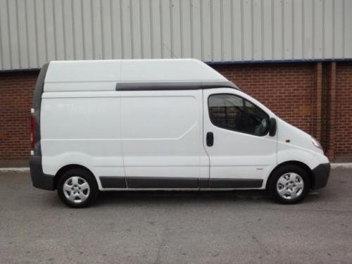 2012 VAUXHALL VIVARO 2.0 CDTI LWB High Roof Van 2.9t Euro 5 For Sale (picture 4 of 6)
